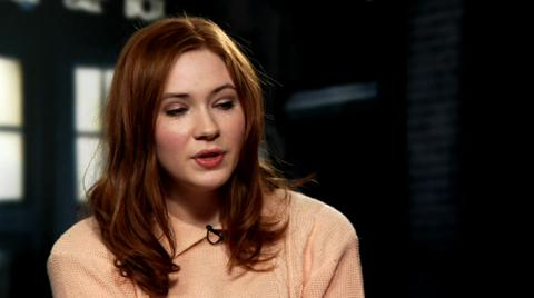 Karen Gillan on The Series