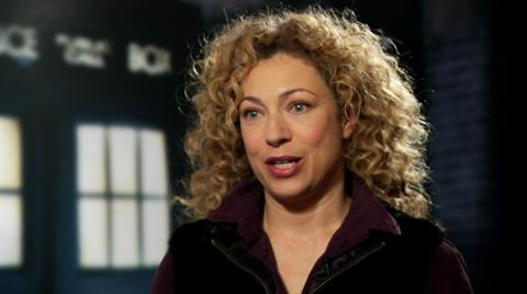 Alex Kingston (River Song) on Doctor Who
