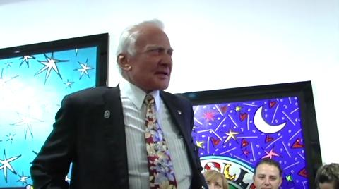 Buzz Aldrin on Top Gear USA