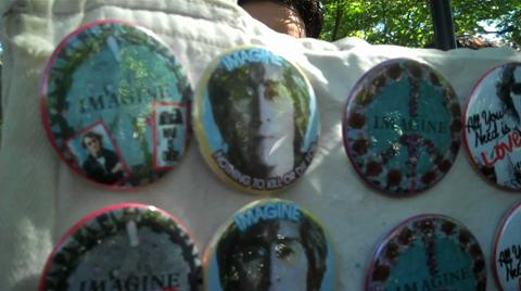 NYC Tribute to John Lennon on His 70th Birthday