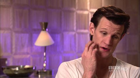 A Christmas Carol - Matt Smith talks about his co-stars...