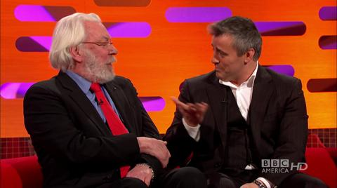 Donald Sutherland & Matt LeBlanc