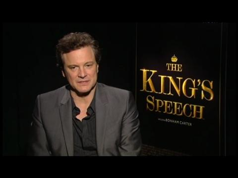 Colin Firth 'King's Speech' Interview