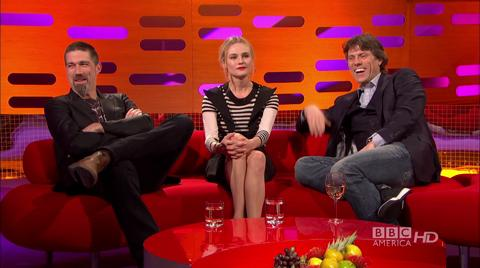 Matthew Fox, Diane Kruger & John Bishop