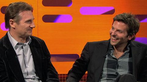 Liam Neeson & Bradley Cooper