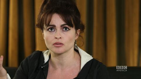Helena Bonham Carter on Playing Elizabeth Taylor