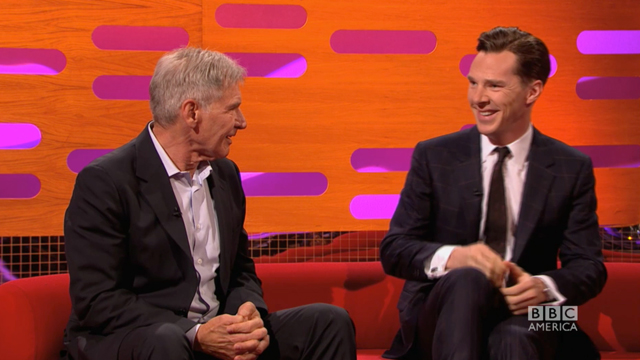 Harrison Ford + Benedict Cumberbatch = The New Star War...