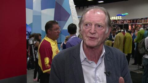 Mark Gatiss and David Bradley on An Adventure in Space and Time