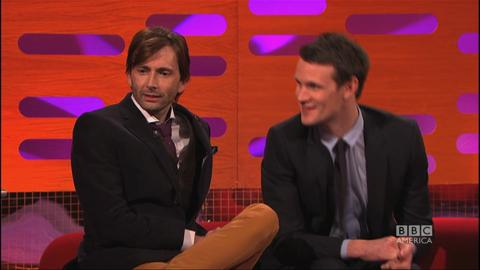 Matt Smith and David Tennant Answer Whovian Fans' Quest...