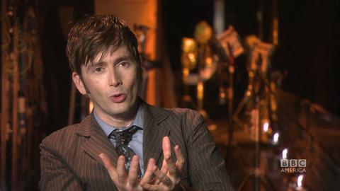 What would David Tennant steal from the Eleventh Doctor...