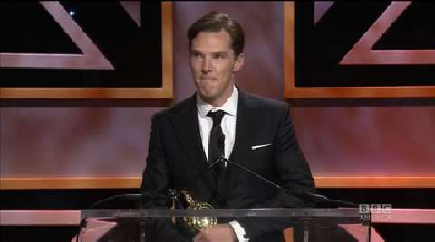 Benedict Cumberbatch Accepts 'Unfair' Award