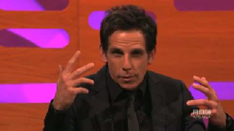 Ben Stiller's Mirror Face