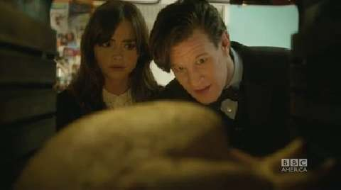 Clara and The Doctor Cook Christmas Turkey