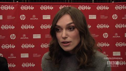 Keira Knightley on Playing American