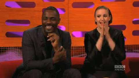 Idris Elba and Lena Dunham Send Flirty Texts