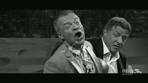 Sylvester Stallone Punches Graham Norton