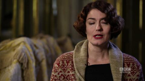 Anna Chancellor on Officer Monday