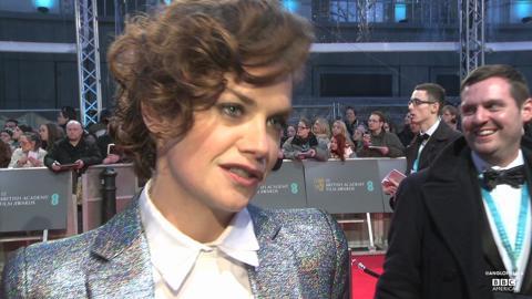 BAFTAs: Ruth Wilson on 'Saving Mr. Banks' and 'Luther'