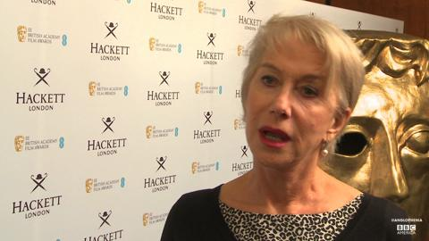 Helen Mirren on Her BAFTA Fellowship Honor