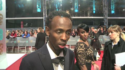 BAFTAs: Barkhad Abdi on Captain Philips