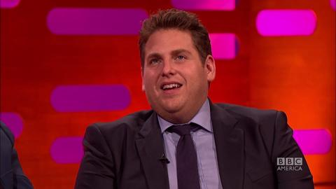 Jonah Hill's 'Fishy' Moment on 'The Wolf of Wall Street'
