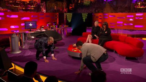 Bear Grylls Teaches Graham Norton Yoga