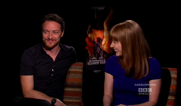 Does James McAvoy Carry a Mirror on Set?