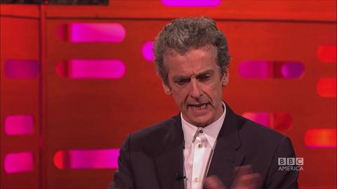 Peter Capaldi Keeps a Secret