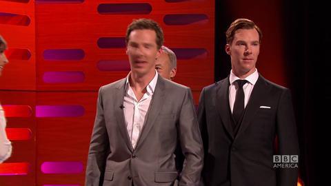 Benedict Cumberbatch Photobombs His Wax Figure