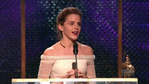 Emma Watson Dedicates Award to Pet Hamster
