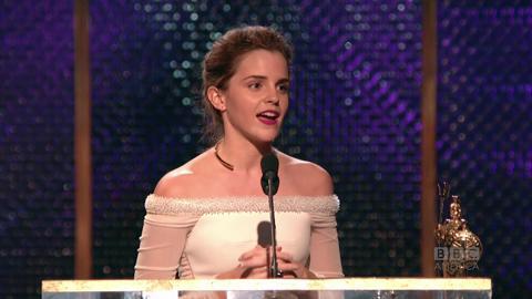Emma Watson Dedicates Award to Pet Hamster