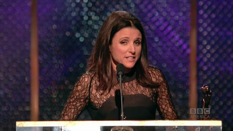 Julia Louis-Dreyfus' 'Happy for Lena Dunham' Face
