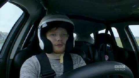 Ed Sheeran's Reasonably Priced Car Lap