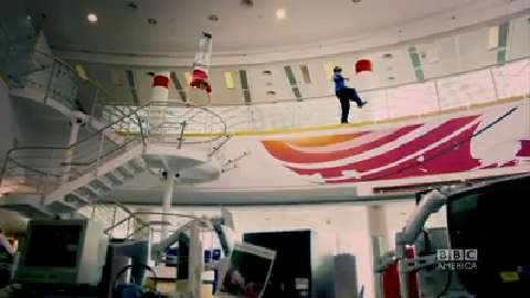 Parkour at the BBC