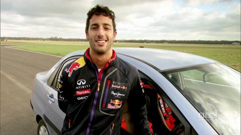 Daniel Ricciardo's Message to BBC America
