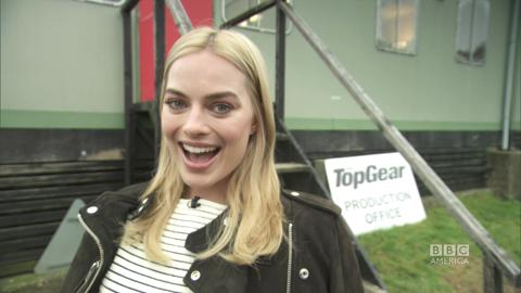 Margot Robbie Shout Out to BBC America