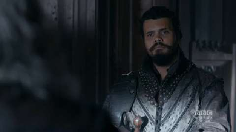 Porthos Meets His Father