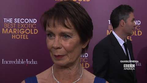 Celia Imrie on the 'Optimism' of 'Marigold Hotel'