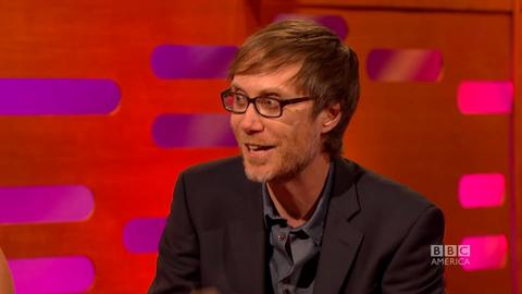 Stephen Merchant's Golden Globes Photo Fail
