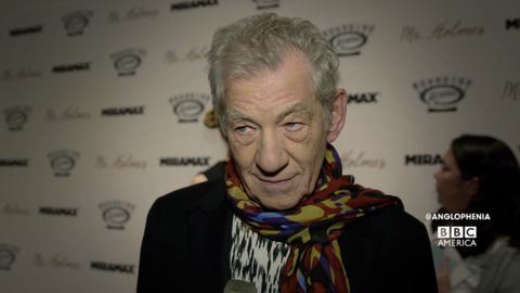 Sir Ian McKellen as an Aging Sherlock