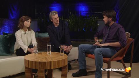 Peter Capaldi Shows Wil Wheaton How to Drive the TARDIS...