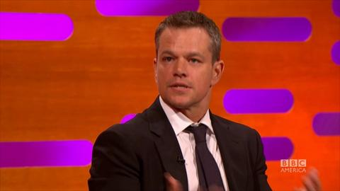 Matt Damon's Post-Oscar Epiphany