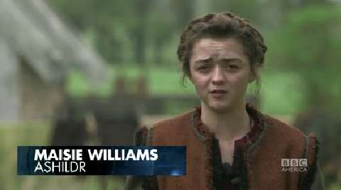 Working with Maisie Williams