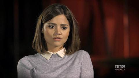 Doctor Who: Jenna Coleman: Peter Capaldi is 'Just a Wonderful Actor'